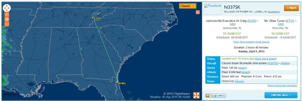 4-5-15 337 Flight 1